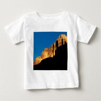 Park Sunset Light On Canyon Wall Grand Canyon Baby T-Shirt
