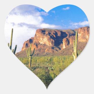 Park Superstition Ains Tonto Forest Heart Sticker