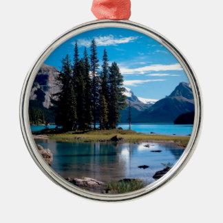 Park The Great Outdoors Jasper Alberta Canada Metal Ornament