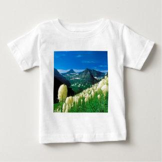Park The Highline Trail Glacier Montana Baby T-Shirt