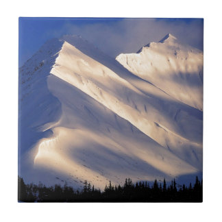 Park Whispering Ain Summit Lake Kenai Alaska Ceramic Tile