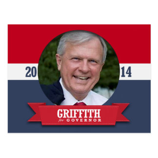 PARKER GRIFFITH CAMPAIGN POST CARD