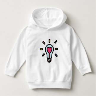 Parker of the young child of the light bulb of the hoodie