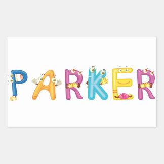 Parker Sticker