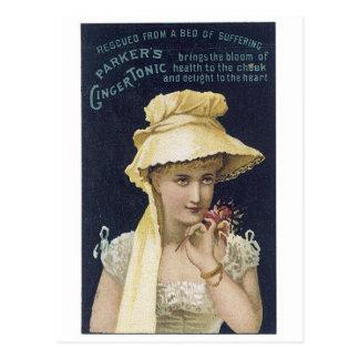 Parker's Ginger Tonic Postcard