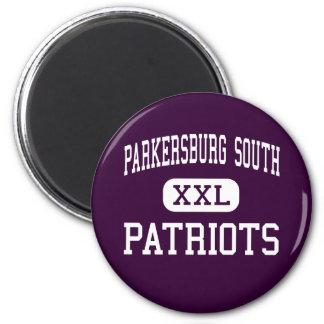 Parkersburg South - Patriots - High - Parkersburg Fridge Magnet