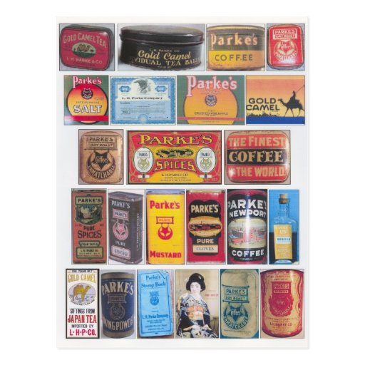 Parke's Products Post Cards