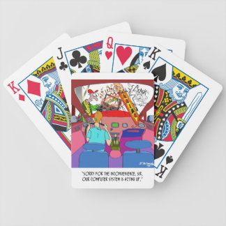 Parking Cartoon 8849 Bicycle Playing Cards