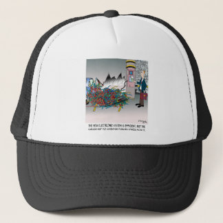 Parking Cartoon 8973 Trucker Hat