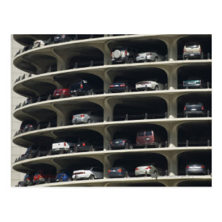 Parking garage Marina City Chicago Illinois USA Postcard