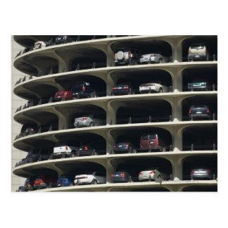 Parking garage Marina City Chicago Illinois USA Postcard