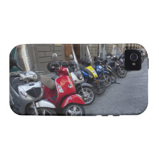 Parking is extremelly hard to find, Scooters are Case-Mate iPhone 4 Covers