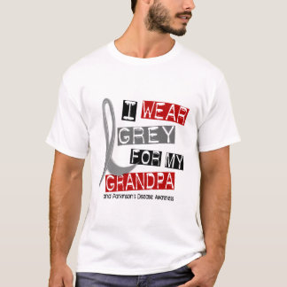 Parkinsons Disease I WEAR GREY FOR MY GRANDPA 37 T-Shirt