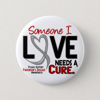 Parkinsons Disease NEEDS A CURE 2 2 Inch Round Button