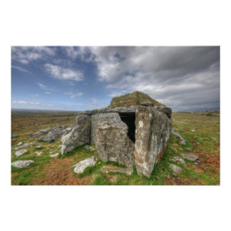 Parknabinna Wedge Tomb Poster
