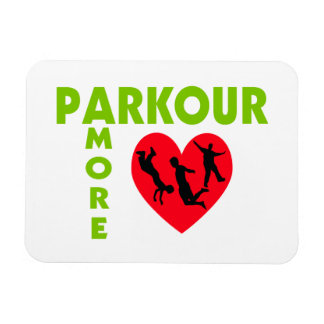 Parkour Amore With Heart Magnet