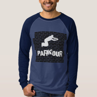 Parkour Athlete shirt baseball shirt