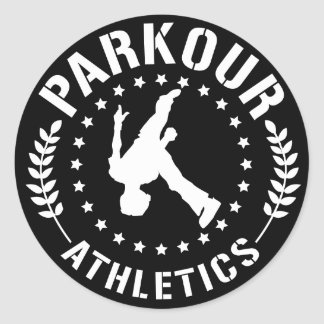 Parkour Athletics sticker