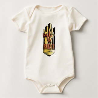 parkour baby bodysuit