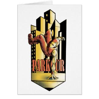 parkour card
