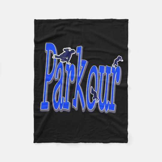 Parkour Fleece Blanket