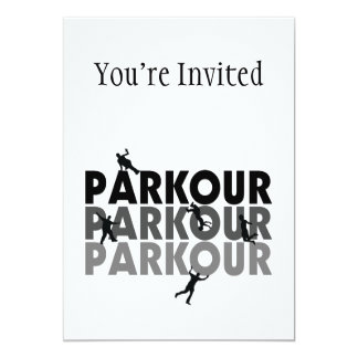 Parkour Free Running Card