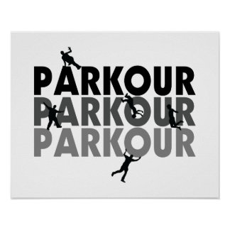 Parkour Free Running Poster