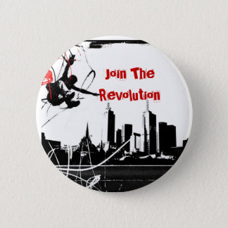 parkour, Join The Revolution 2 Inch Round Button