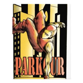parkour letterhead