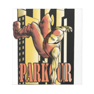 parkour notepad