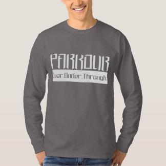 Parkour O.U.T White T-Shirt