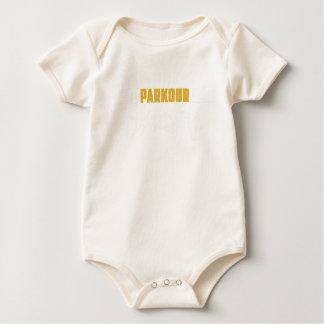 Parkour Runaway Extreme Sports Stunt Free Running Baby Bodysuit