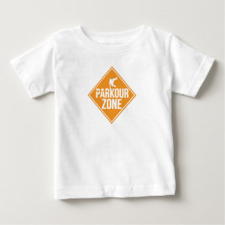 Parkour Runaway Extreme Sports Stunt Free Running Baby T-Shirt