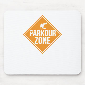 Parkour Runaway Extreme Sports Stunt Free Running Mouse Pad