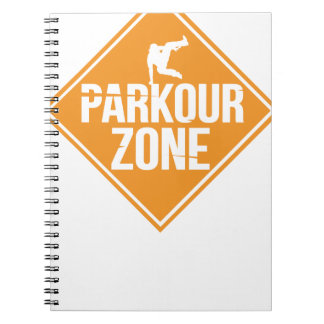 Parkour Runaway Extreme Sports Stunt Free Running Notebooks