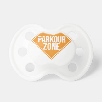 Parkour Runaway Extreme Sports Stunt Free Running Pacifier