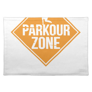 Parkour Runaway Extreme Sports Stunt Free Running Placemat