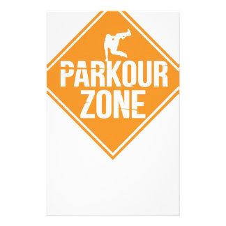 Parkour Runaway Extreme Sports Stunt Free Running Stationery