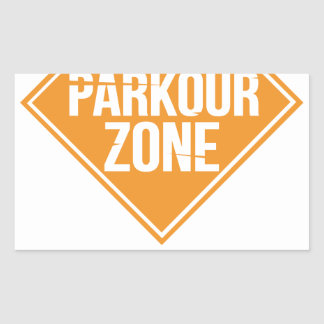 Parkour Runaway Extreme Sports Stunt Free Running Sticker