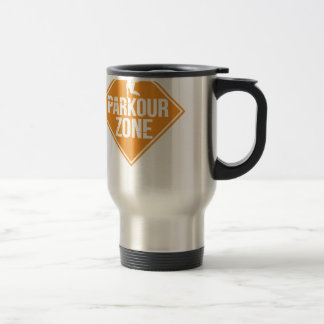 Parkour Runaway Extreme Sports Stunt Free Running Travel Mug