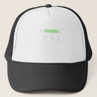 Parkour Runaway Extreme Sports Stunt Free Running Trucker Hat