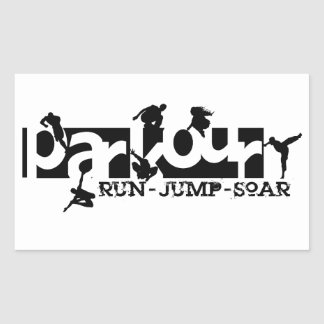 Parkour Sticker