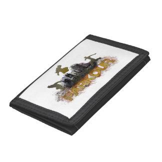 parkour tri-fold wallet