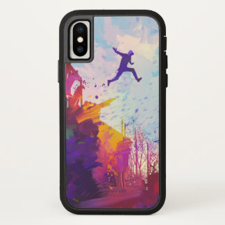Parkour Urban Free Running Freestyling Modern Art Case-Mate iPhone Case
