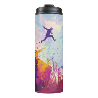Parkour Urban Free Running Thermal Travel Mug