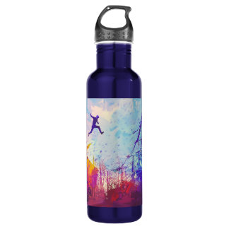 Parkour Urban Free Running Water Bottle
