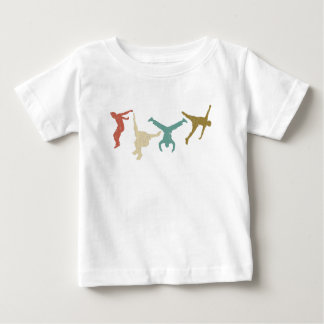 Parkour Vintage Extreme Sports Stunt Free Running Baby T-Shirt