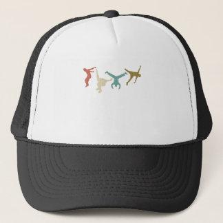 Parkour Vintage Extreme Sports Stunt Free Running Trucker Hat