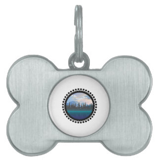 Parks and Recreation Pet Name Tag