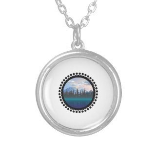 Parks and Recreation Silver Plated Necklace